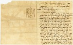 1836 November 10: Governor Conway to Principal Chief Opothloyo ho lo of the Creek Nation, Plan for removal of Indians