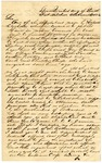 1836 October 5: T.S. Jessup, Fort Mitchell, Alabama, to M.W. Bateman, Agent for Creek Immigration, Memphis, Tennessee, Report of Indian affairs