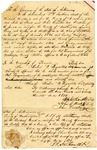 1836 December 20: B.H. Smithson, John G. Stout and John Cureton, Washington County, to Governor Conway, Certificate