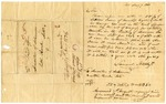 1836 August 7: Samuel Staples, Jr., Providence, Rhode Island, to E.N. Conway, Auditor, Military bounty Land Claims
