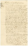 1836 September 20: William G. Bozeman, St. Francis County, to E.N. Conway, Auditor, Military bounty Land Claims