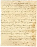 1836 October 18: Governor James S. Conway, Proclamation of the election of Archibald Yell as Representative to Congress