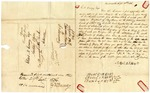 1836 September 12: Timothy Barber, Barbersville, Indiana, to E.N. Conway, Auditor, Military bounty Land Claims