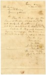 1836 November 11: M.W. Bateman, Principle Military Agent, Creek Removal, Cadron, Arkansas, to Governor James S. Conway, Report on Indian removal