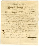 1837 March 15: Citizens of Izard County to Governor James S. Conway, Petition to request appointment of William B. Karr as Justice of the Peace