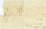 1837 August 9: King and Wilson, Washington City, to E.N. Conway, Auditor, Inquiry concerning land owned by Giles Roe, deceased