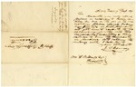 1837 January 17: Governor James S. Conway to William Woodruff, Concerning purchase of land and money