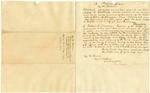 1837 April 28: Governor James S. Conway to George C. Watkins, Secretary of State, Proclamation of reward for arrest of Moses R. Guthrie, accused murderer