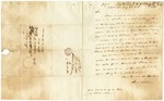 1838 July 8: Lewis Williams, Washington, District of Columbia, to E.N. Conway, Auditor, Military bounty land claims