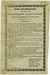 1838 June 15: Little Rock Plasterers Association, Rules for measurement of work