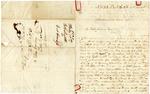 1838 February 10: E.B. Smith, New Hampton, New Hampshire, to Elias N. Conway, Auditor, Military bounty land claims
