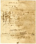 1838 August 24: W. Byers to Elias Conway, Auditor, Lands subject to redemption