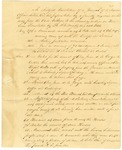 1838 August 2: Daniel Monteague, A.G. Wright, et al., to Colonel Voss, Fort Towson, Journal of unidentified Mexican officer concerning Indian activities