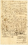 1838 December 24: D.K. Lloyd, Sheriff of Izard County, to Governor James S. Conway, Security bond for commission for Lloyd as sheriff