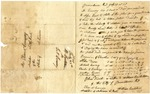 1838 July 28: William Canton, Providence, Rhode Island, to Elias N. Conway, Auditor, Military bounty land claims