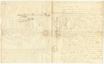 1838 January 8: James Davis, Deputy Sheriff, Izard County, to Elias N. Conway, Auditor, Concerning taxes due the state