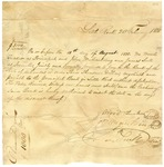 1838 February 20: Wood Tucker, J.W. Maulding, and James Scull to Bank of Arkansas, Note for $30,000