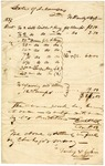 1838 February 21: Danley and Gossin to State of Arkansas, Bill for services