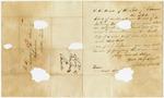 1838 September 3: John Jones, Boston, to Auditor of State, Military bounty land claims