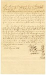 1839 May 1: Samuel M. Hays, et al., to Elias N. Conway, Auditor, Security bond for Hays as sheriff and collector of Pope County