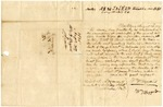 1839 August 30: William T. Bazzard, Baltimore, Maryland, to E.N. Conway, Auditor, Concerning taxes owed on land in Arkansas