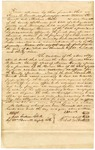 1839 January 8: Isaac B. Everett, et al., Yellville, to E.N. Conway, Auditor, Security bond for Everett as sheriff of Marion County