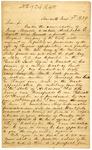 1839 June 3: Pierce Byrne, Hancock, Maryland, to Auditor of Arkansas, Military bounty land claims
