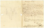1839 June 21: Phelps Mix, Harrisburg, Pennsylvania, to Elias N. Conway, Auditor, Military bounty land claims