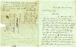 1839 March 18: M. Tarver, Tuscumbia, Alabama, to Anthony H. Davis, Columbia, Arkansas, Concerning payment of taxes on land in Arkansas