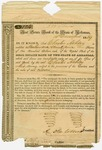 1839 December 10: Real Estate Bank of the State of Arkansas, R.D.C., President, to Chester Ashley, Transfer of 299 shares of stock
