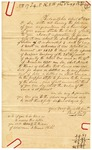 1840 April 10: Paul Reilly, Philadelphia, Pennsylvania, to E.N. Conway, Auditor, Military bounty land claims