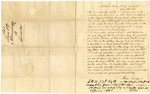 1840 June 8: Alvin Savage, Scottsville, New York, to E.N. Conway, Auditor, Military bounty land claims