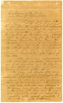 1840 November 6: Governor Yell to the General Assembly, Message to the Legislature upon becoming governor