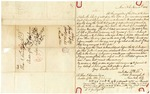1840 June 16: James L. Webb, New York, to Elias N. Conway, Auditor, Military bounty land claims