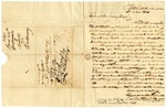 1840 June 24: Goodall and Woods, Bath, New Hampshire, to Elias N. Conway, Auditor, Concerning military bounty land claim of Stephen Whipple, deceased