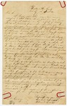 1840 June 1: William Cecil, Pikeville, Kentucky, to Elias N. Conway, Auditor, Military bounty land claim