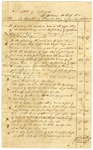 Undated [1841]: State of Arkansas to William H. Glass, Itemized statement for plastering work done at Penitentiary