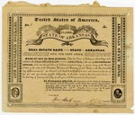 1841 Undated: Real Estate Bank of the State of Arkansas, $1,000 Arkansas State Bond