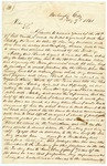1841 February 9: J.Pope, Washington City, to unknown, Concerning New Madrid land claims of Chester Ashley