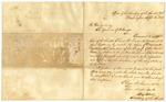 1842 September 6: Asbury Dickens, Secretary of United States Senate, Washington, to the Governor of Arkansas, Transmitting legislative and executive documents