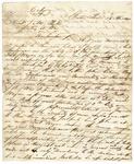 1843 April 24: Samuel Tagert and R. Armstrong, Beatties Prairie, to J.M. Porter, Secretary of War, Concerning Fort Wayne