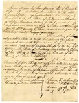 1843 June 10: Simeon E. Rosson, et al., Izard County, to State of Arkansas, Security bond for Rosson as sheriff and collector of Izard County