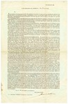 1844 December 25: Alexandre Vattemarre, Paris, France, to Governor of Arkansas, Concerning advertising Arkansas' resources abroad