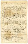1844 May 21: Benjamin Wilhelm, Vandalia, Ohio, to E.N. Conway, Auditor, Military bounty land claims