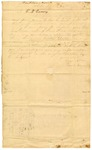 1844 September 16: Isaac King, Salem, Arkansas, to E.N. Conway, Auditor, Report on Common Schools of Fulton County