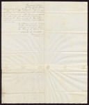 1845 April 1: Jared C. Martin to Elias N. Conway, Auditor, List of treasury warrants redeemed during the first quarter of 1845