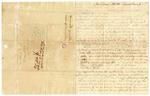 1845 March 19: Henry Garrett, Halifax, North Carolina, E.N. Conway, Auditor, Military bounty land claims