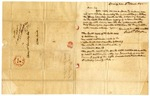 1845 March 3: Richard D. Pryor, Spring Hill, Arkansas, to Elias N. Conway, Auditor, Concerning taxes on land