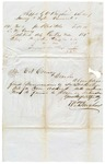 1845 November 1: William Bingham to E.N. Conway, Auditor, Invoice of shipment of books