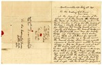 1845 February 18: S.B. McClain, Bentonville, to Governor T.S. Drew to E.N. Conway, Auditor, Concerning election of officials in Benton County